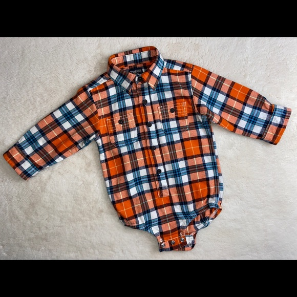 OSHKOSH Button-Front Bodysuit for 18 month old!